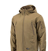 M-Tac зимняя куртка Soft Shell с подстежкой Coyote койот