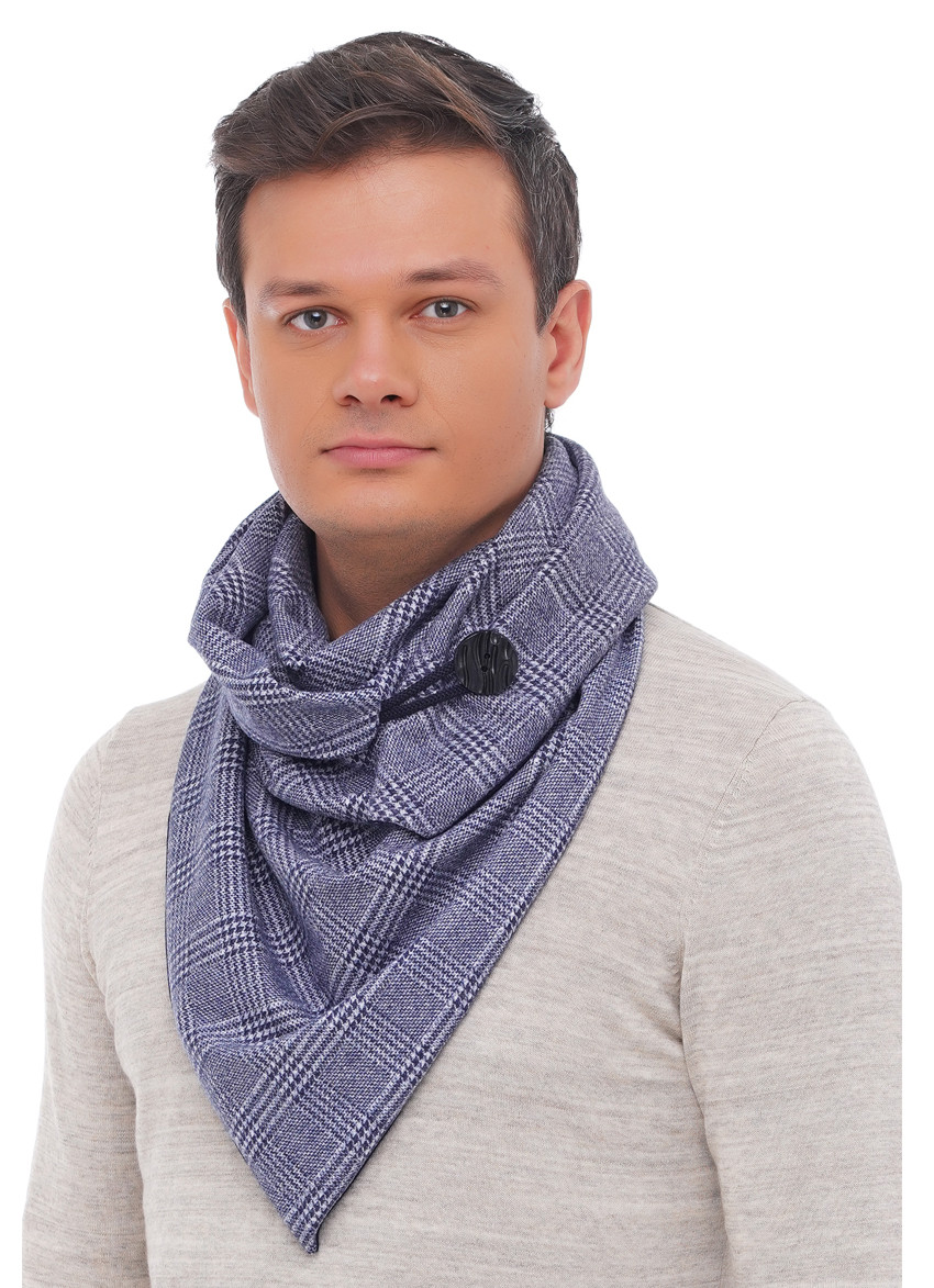 "Шарф-бактус ""Единбург"", жіночий шарф, великий жіночий шарф"