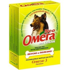 Вітаміни Омега Нео Біотин для собак