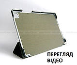 Черный бизнес чехол книжка для Samsung Galaxy Tab A7 10.4 2020 (Sm-T500 SM-T505) Ivanaks Tri Fold black, фото 5