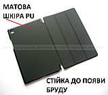 Черный бизнес чехол книжка для Samsung Galaxy Tab A7 10.4 2020 (Sm-T500 SM-T505) Ivanaks Tri Fold black, фото 8