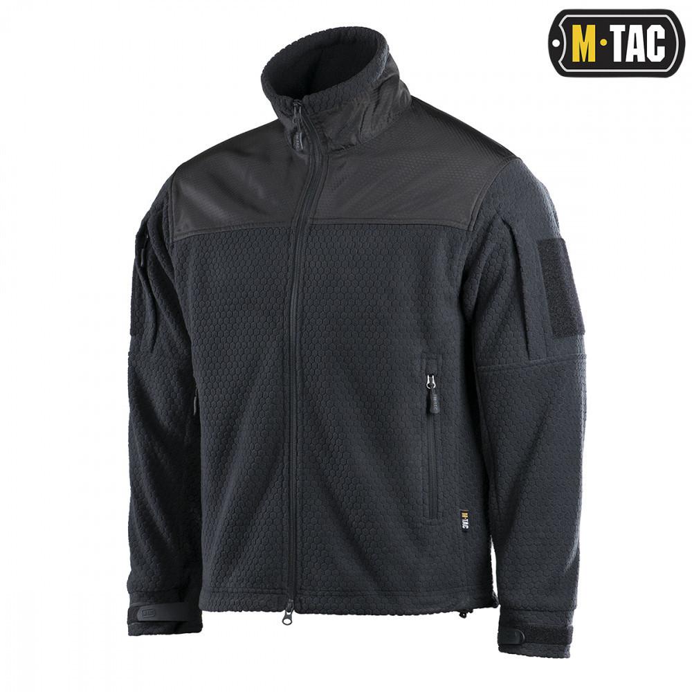 M-Tac куртка Hexagon Alpha Microfleece Jacket Black