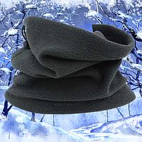 Зимний бафф флисовый, фото 1