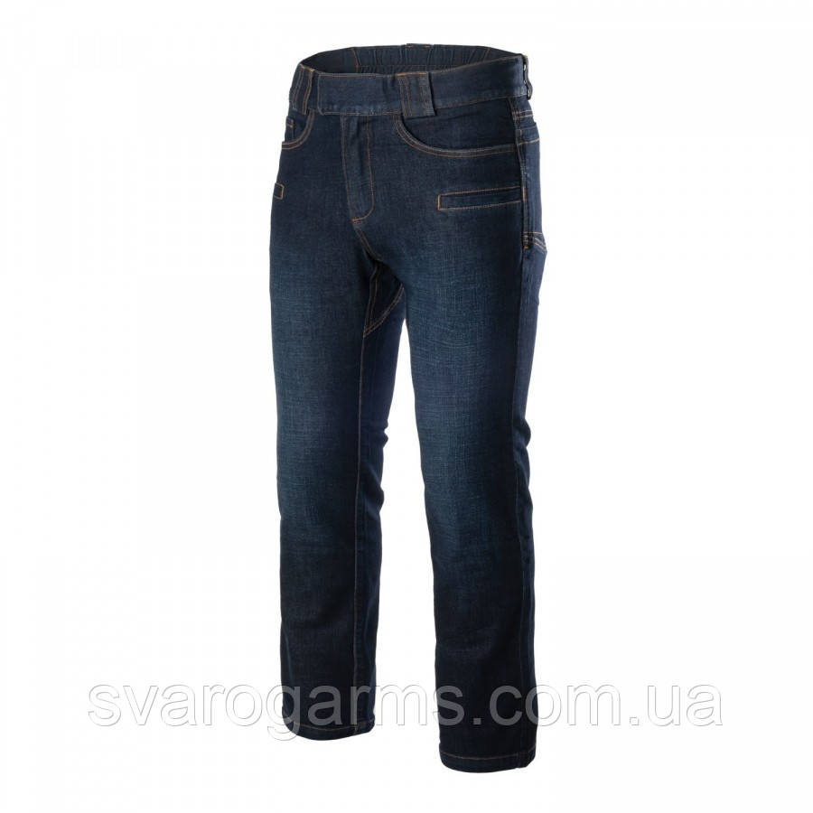 Штани GREYMAN TACTICAL JEANS Slim - Denim Mid