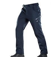 M-Tac брюки зимние синие Soft Shell Winter Dark Navy Blue
