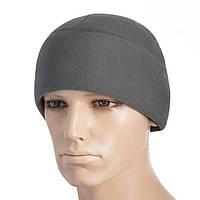 M-Tac шапка Watch Cap флис (330г/м2) with Slimtex серая