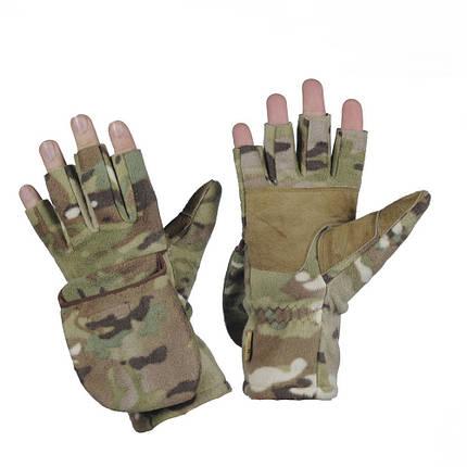 M-Tac перчатки беспалые с клапаном Windblock 295 MC, фото 2