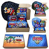 Бокс Старс с шапкой (пенал, блокнот, кошелек, закладки, шапка) – отличный подарок любителям игры stars