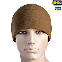 M-Tac шапка Watch Cap Elite флис Windblock 295 Dark Coyote, фото 2