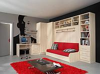 Шкаф-кровать-трансформер для кабинета или спальни, фото 1
