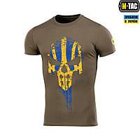 M-Tac футболка Месник Olive/Yellow/Blue