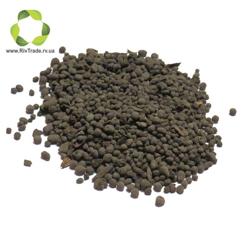 Uphos Organic+ куринный компост (круглая гранула + сульфат калия + гумат калия)