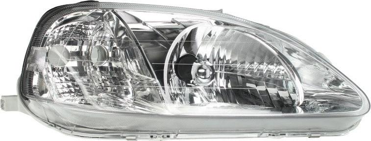 Фара передняя Honda Civic VI 1999-2001 правая H4, автом. регул. (тип Valeo) 217-1131R-LD-EM