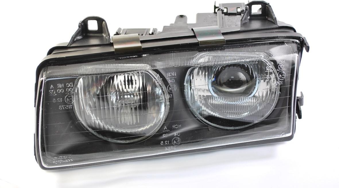 Фара передняя BMW 3 (e36) 1990-9/1994 левая H1/H1 автомат. регул. 2/4 дв. тип ZKW  444-1110L-LD-EO