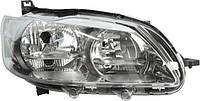 Фара передняя Peugeot 301 2012- правая H7/H1+днев.свет, мех/авт. 550-1158R-LDEMN