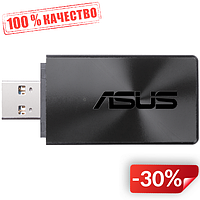 Сетевой адаптер Asus USB-AC54 Dual Band Wireless AC1300 USB Adapter (6365786)