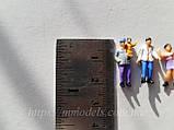 Комплект фигурок человечков для макета, комплект 10 шт высота 22 мм, масштаб 1:87,H0, фото 2