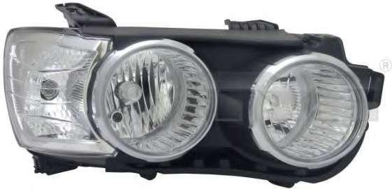 Фара передняя Chevrolet Aveo (T300) 12- Sdn/Hb левая, хром. окуляр., электр. регулир.  235-1114LMLDEM1