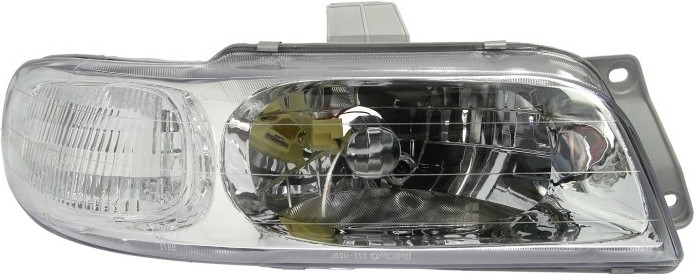 Фара передняя Daewoo Nubira 1997-1999 правая H4 ручн. регул. 222-1105R-LD-EM