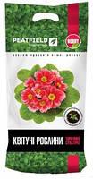 """Торфяной субстрат """"Для цветущих растений"""", 6 л для выращивания и пересадки цветов, PEATFIELD"""