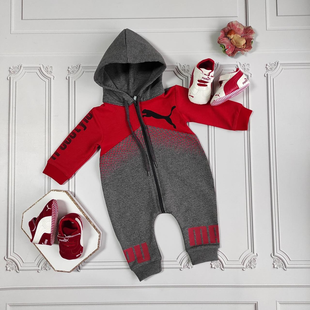 Ромпер Puma для новорождённых