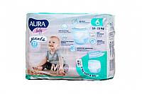 Підгузки-трусики Aura Розмір 6, 16-25 кг, 37 шт