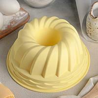"""Форма для кекса, запеканки, десерта """"Втулка"""". D=23см, h=10см."""
