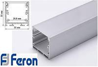 Профиль для светодиодной ленты Feron CAB 256