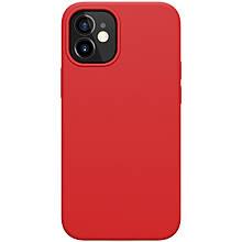 Магнитный силиконовый чехол Nillkin для iPhone 12 mini (5.4″) Flex Pure Pro Magnetic Case Red