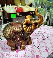 Статуэтка фен шуй Слон денежный, высота 13 см.