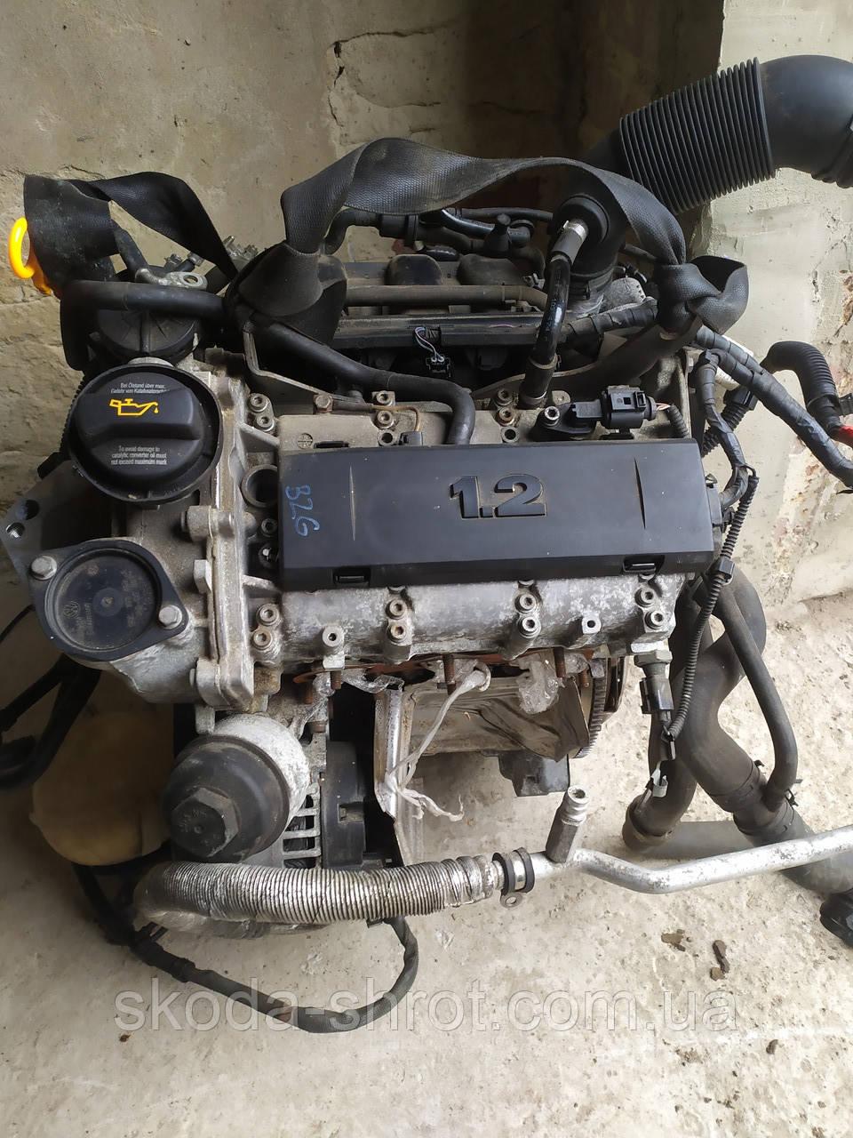 Мотор BZG 1.2 бензин 12 V Fabia Ibiza Roomster