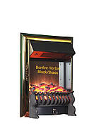 Електрокамін Bonfire Horton Black/Brass