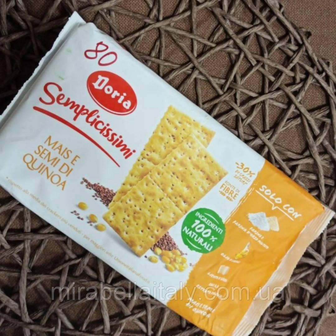 Крекер из кукурузной муки и семян киноа