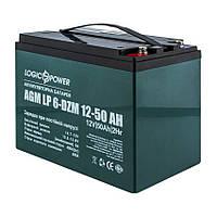 Аккумулятор Тяговый LogicPower 50 Ач 12 V Свинцово-Кислотный AGM LP 6-DZM-50, фото 2
