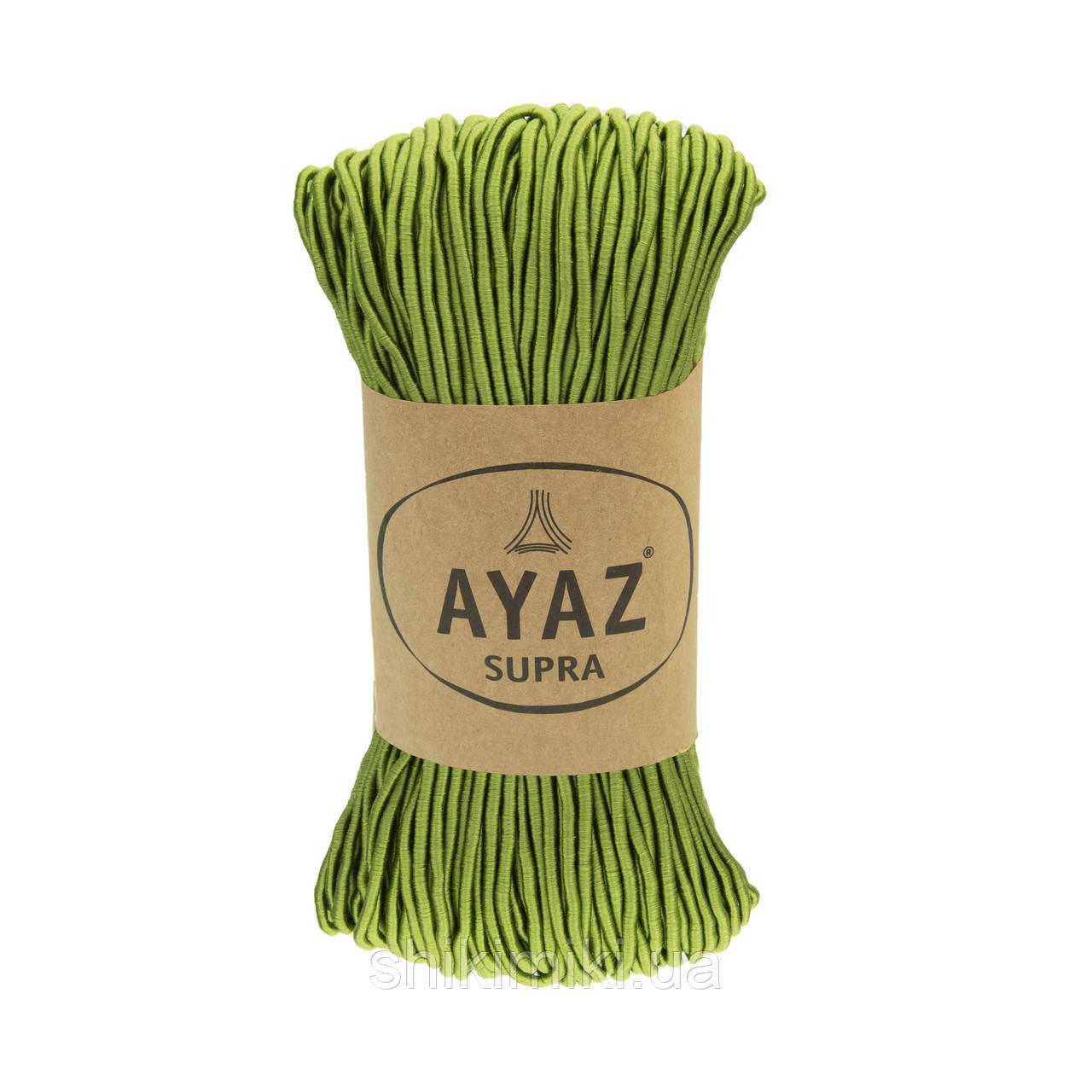 Фантазийный шнур Ayaz SUPRA, цвет Киви