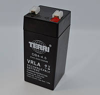 Аккумулятор 4v 4.5a SLA 47*47*100 мм DB4-4.5 TERRI
