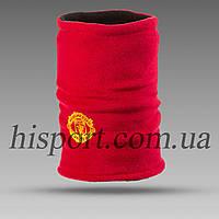 Двусторонний Бафф (горловик) Манчестер Юнайтед красный / адидас черный, фото 1