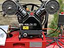 Компрессор воздушный ременной Edon OAC-100/2400 2.4кВт 440л/мин, фото 2