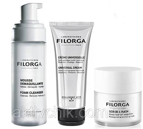 Набір Filorga зволожуючий для сухої та чутливої шкіри