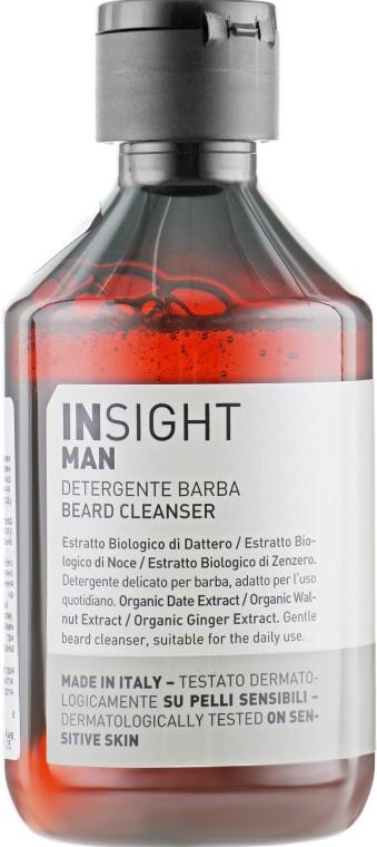 Очищающее средство для бороды Insight Man Detergente Barba Beard Cleanser