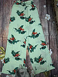 Новые широкие штаны с принтом mango, сток без бирки, фото 4