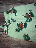 Новые широкие штаны с принтом mango, сток без бирки, фото 5