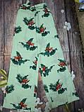 Новые широкие штаны с принтом mango, сток без бирки, фото 7