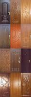 Облицовка дверей накладками(карточками) из ламинированного МДФ