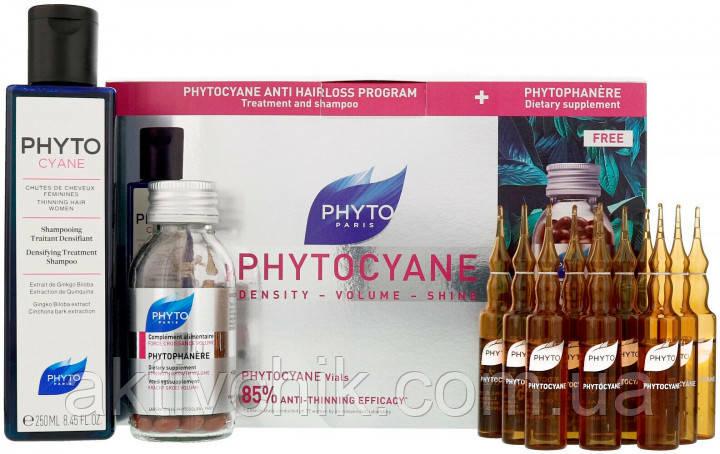 Набор Phyto Phytocyane  Программа против выпадения волос