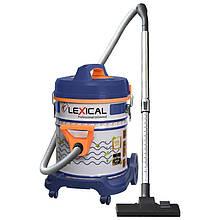 Професійний промисловий вакуумний пилосос LEXICAL LVC-4002 з контейнером 25л Blue/Orange 220