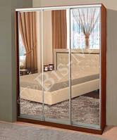 Шкаф-Купе 3 двери зеркало Комфорт №6