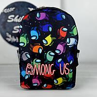 Детский рюкзак - Among Us \ Амонг Ас - Человечки
