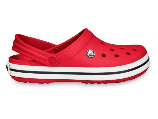 Мужские кроксы Crocs Crocband красные 43 р.
