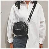 Маленькая черная вместительная сумка, фото 2